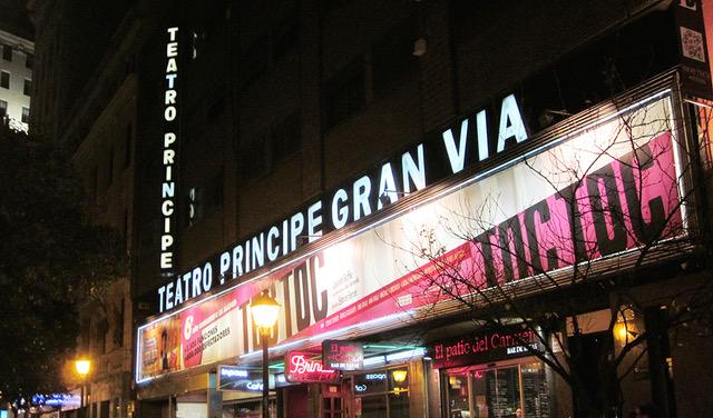 Teatro Príncipe Gran Vía Madrid