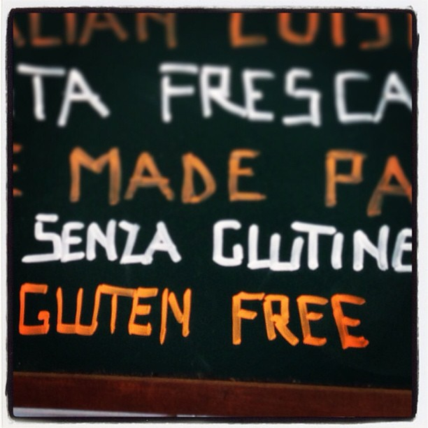Restaurantes Sin Gluten